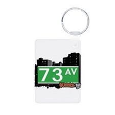 73 AVENUE, QUEENS, NYC Keychains