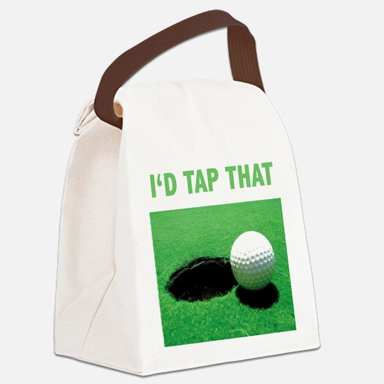 Id Tap That Canvas Lunch Bag