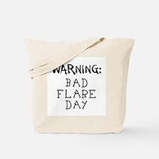 Warning: Bad Flare Day! Tote Bag