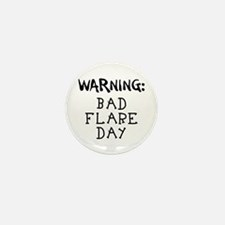 Warning: Bad Flare Day! Mini Button (10 pack)