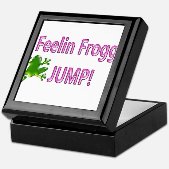 Feelin Froggy P&G Keepsake Box