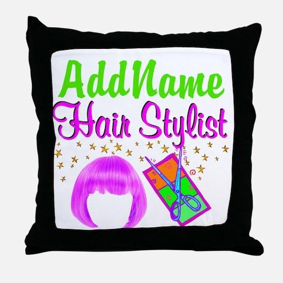 FIERCE STYLIST Throw Pillow