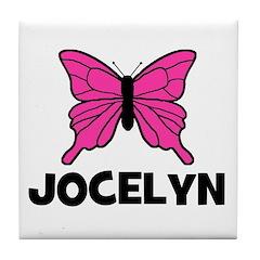 Butterfly - Jocelyn Tile Coaster