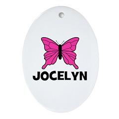 Butterfly - Jocelyn Oval Ornament