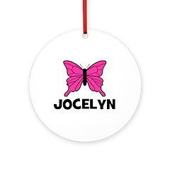 Butterfly - Jocelyn Ornament (Round)