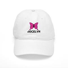 Butterfly - Jocelyn Baseball Cap