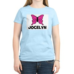Butterfly - Jocelyn Women's Pink T-Shirt