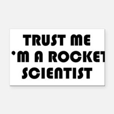 trustmeim.png Rectangle Car Magnet