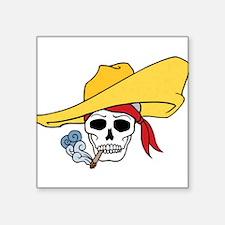 Cool Cartoon Halloween Smoking Skull Hat Bandana S