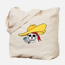 Cool Cartoon Halloween Smoking Skull Hat Bandana T