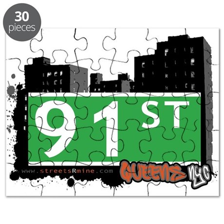 91 STREET, QUEENS, NYC Puzzle