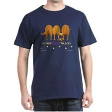 Nothin' Butt Tollers Navy T-Shirt