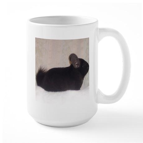 Ebony Chin Large Mug