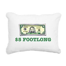 5dollar.png Rectangular Canvas Pillow