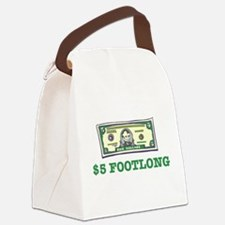5dollar.png Canvas Lunch Bag