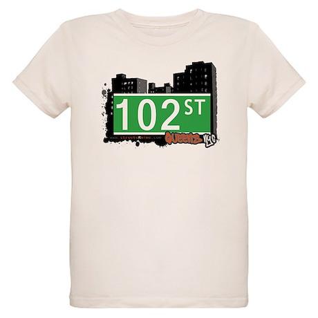 102 STREET, QUEENS, NYC Organic Kids T-Shirt