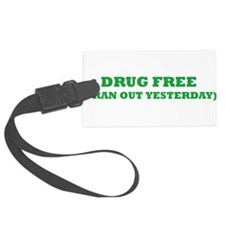 drugfree2.png Luggage Tag
