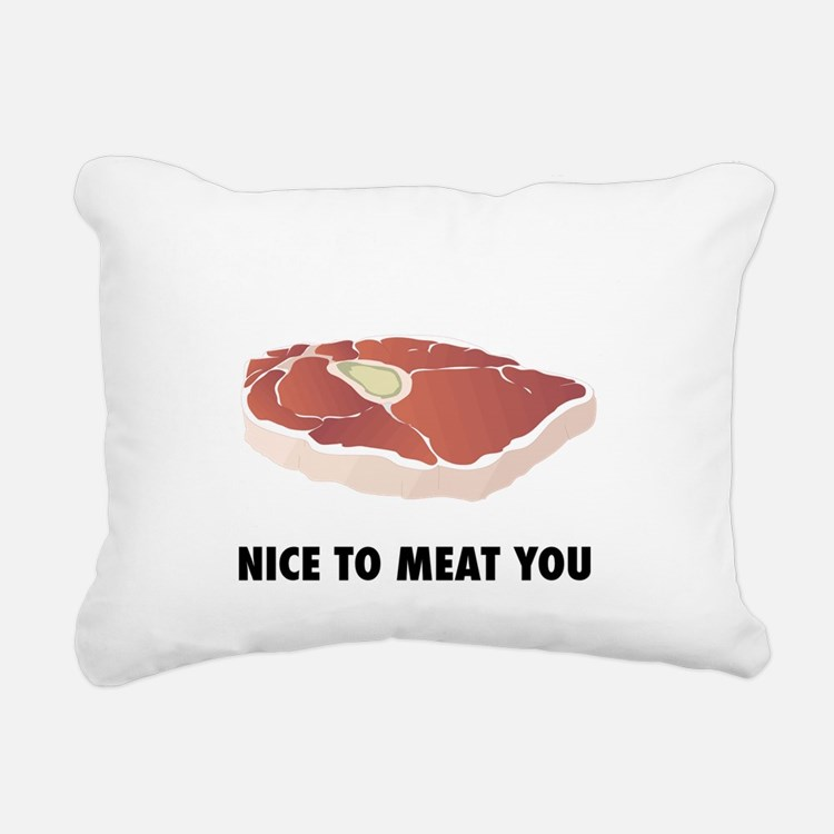 hotdog3.png Rectangular Canvas Pillow