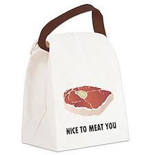 hotdog3.png Canvas Lunch Bag
