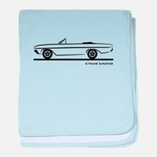 1964 Buick Skylark Convertible baby blanket