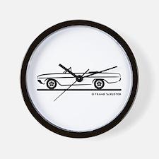 1964 Buick Skylark Convertible Wall Clock