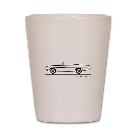 1964 Buick Skylark Convertible Shot Glass