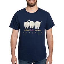 Nothin' Butt Westies Navy T-Shirt