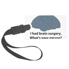 brain5.png Luggage Tag