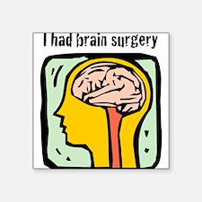 "Brain-3-[Converted]1.png Square Sticker 3"" x 3"""