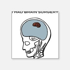 """Brain---Tiny-[Converted]3.png Square Sticker 3"""" x"""