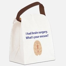 brain3.png Canvas Lunch Bag