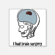 """Brain---Tiny-[Converted]4.png Square Sticker 3"""" x"""