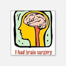 "Brain-3-[Converted]3.png Square Sticker 3"" x 3"""