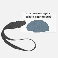 brain6.png Luggage Tag
