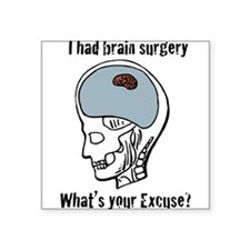 """Brain---Tiny-[Converted]4a.png Square Sticker 3"""" x"""