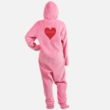 Heart-7.png Footed Pajamas