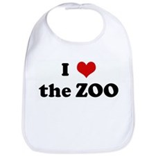 I Love the ZOO Bib