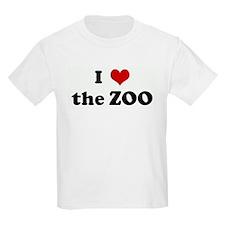 I Love the ZOO Kids T-Shirt