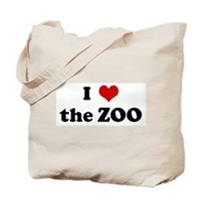 I Love the ZOO Tote Bag