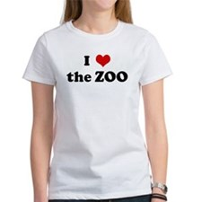 I Love the ZOO Tee