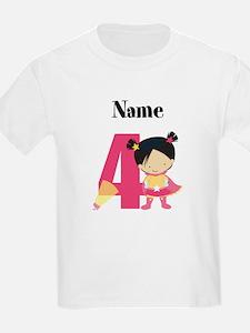 Superhero Girl 4 T-Shirt