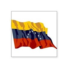 "Venezuela-2-[Converted].jpg Square Sticker 3"" x 3"""