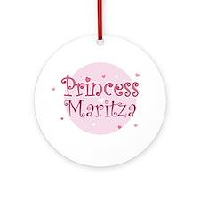 Maritza Ornament (Round)