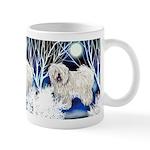 Puli Dog Winter Mug