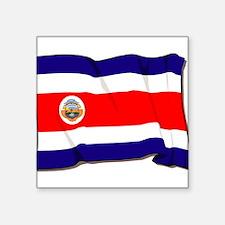 "Costa-Rica-3-[Converted].jpg Square Sticker 3"" x 3"