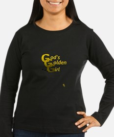 Gods Golden Girl Long Sleeve T-Shirt