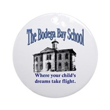 Bodega Bay School Ornament (Round)