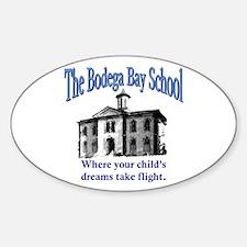 Bodega Bay School Oval Decal