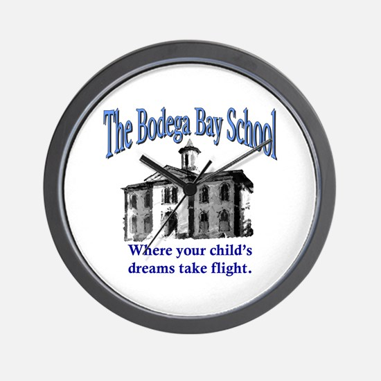 Bodega Bay School Wall Clock