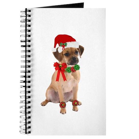 Christmas Puggle Journal